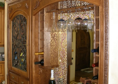 LEED-Certified-Home-Construction-WineCabinet