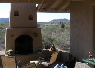 Tucson Custom Home - Patio